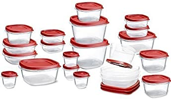 Rubbermaid Easy Find LID Set de Contenedores para Alimentos, 42 Piezas