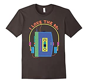 I Love the Eighties Distressed T-Shirt - Retro Gift