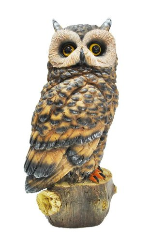 KelKay 4439 Owl Garden Decor Statue