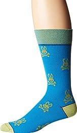 Mens All Over Bunny Dress Socks