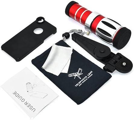 Apexel CL-35-I5 - Pack de accesorios para iPhone 5/5S (lentes y trípode): Amazon.es: Electrónica