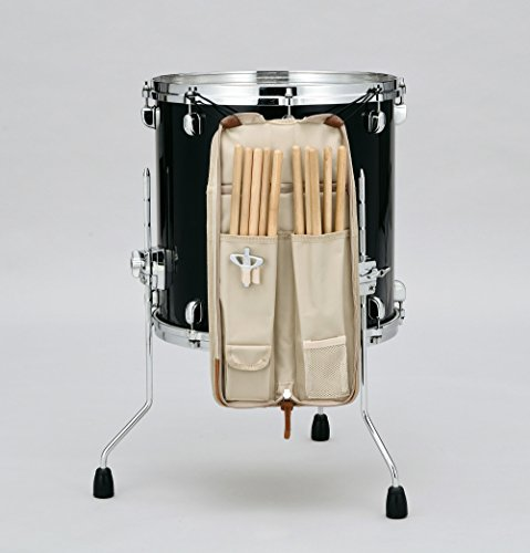 TAMA TSB12NB POWERPAD Stick Bag - Navy Blue - 6 pairs of sticks and mallets by Tama (Image #3)