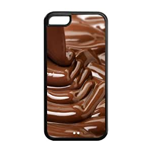 Custom Chocolate Design TPU Case Protector For Iphone 5C