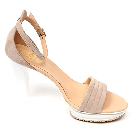 Sandalo Shoe Hogan Beige Beige Scarpa H247 Woman D2452 Donna 5SqwSYf