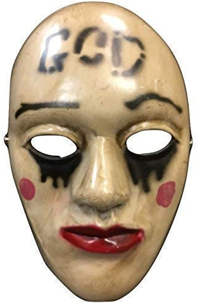 La Purga anachy Dios Película Halloween Máscara fibra de ...