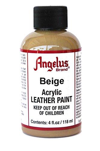 Angelus BCAC18141 Acrylic Leather Paint 4oz Beige