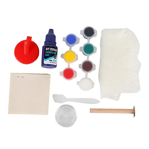 Aramox Leather Repair Kit,DIY Leather Repair Vinyl Repairing Kit for Car Seats Shoes Couches Sofa: