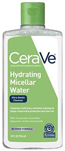 micellar water remover hydrating facial