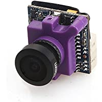 Dovewill 1.3 600TVL PAL CCD 2.3mm Lens Camera for RC Racing Drone Aircraft Accessory Purple