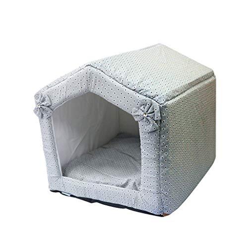 PLDDY Bajo Techo, en Exteriores Casas Plegables portátiles para Cuevas de Gatos/Cama de la habitación del Perro del Gato de...