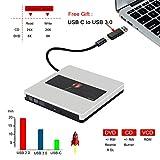External CD DVD Drive USB3.0 NOLYTH USB C
