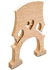 Puente estándar de sustitución de piezas durante 4/4 8/1 1/2 1/4 Contrabajo Tamaño ajustable vertical Puente Bajo Instrumento Partes Adecuado Accesorios (Size : 4/4)
