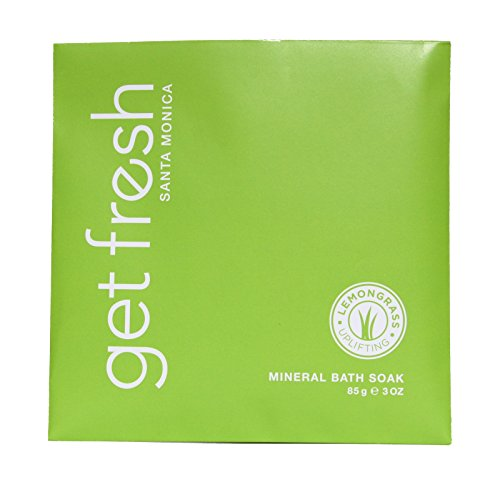 Get Fresh Santa Monica - Mineral Bath Soak Envelope 3oz Lemongrass