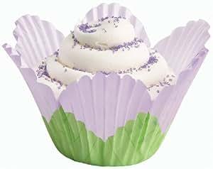 Fancy Standard Baking Cups-Petal Lavender 24/Pkg