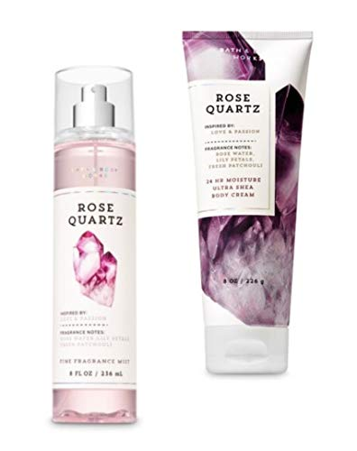 Bath Body Works Rose Quartz Cream and Mist