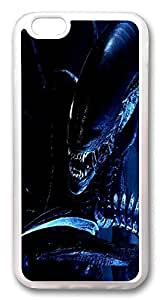 ACESR Alien Scary Stylish iPhone 5c Cases, TPU Case for Apple iPhone 5c Transparent