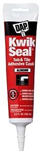 Dap 18013 Kwik-cierre autoadhesivo all-multiusos selladora, 5,5-ml, Tamaño de almendro: 5,5 oz Color: de almendro, Model: 18013, herramientas y Hardware para guardar