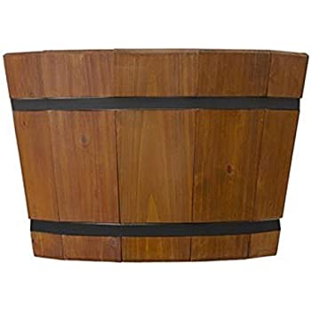 Amazon.com : Pennington Shallow Barrel Tub, 8\