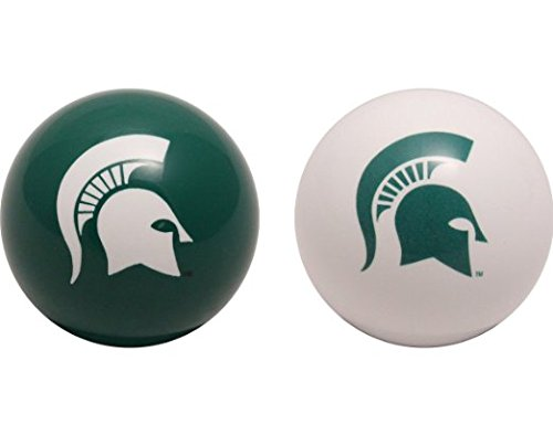 Michigan State University Pool Table Billiard Balls (2) University Pool Table