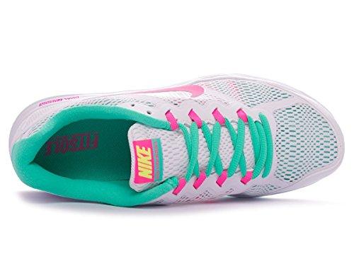 102 Wmns Run Nike volt Damen 654446 Pink Fusion menta Pow Sportschuhe Dual White 5OwSSHTAqy