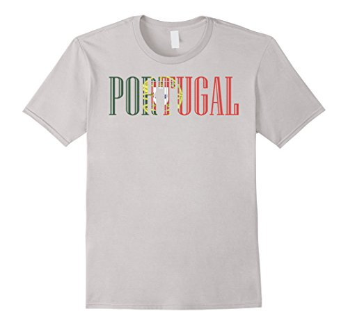Mens Portugal T Shirt Flag of from Portugal tee Medium - Portugal From Men