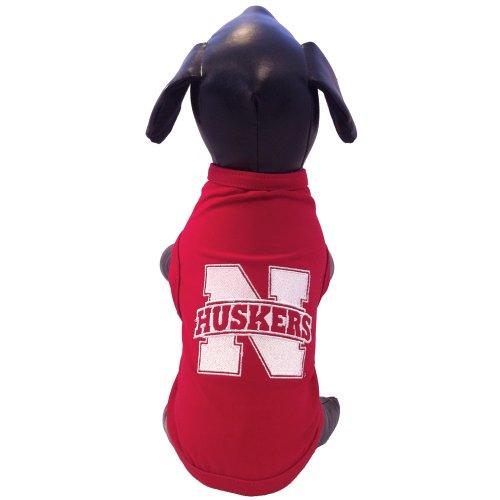 NCAA Nebraska Cornhuskers Cotton Lycra Dog Tank Top, X-Large