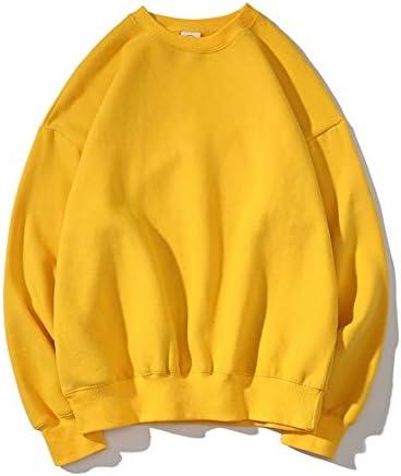 WDDGPZ1 Sweatshirt Winter-Warme Frauen-Kapuzenpullis Normallack-Frauen-Starke Übergroße Sweatshirts Lösen Weibliche Kleidung Yellow