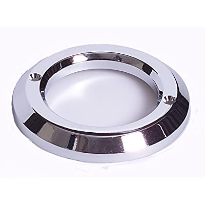 """Maxxima M50305 Chrome 2"""" Round Plastic Grommet Cover for Clearance Marker Light: Automotive"""