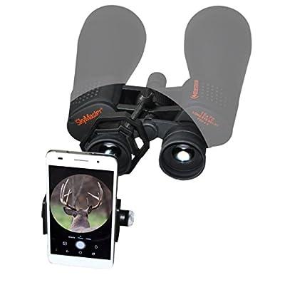 Bone View FSOPTIC Optic Mount Smart Phone (Black) by Kinsey's Archery
