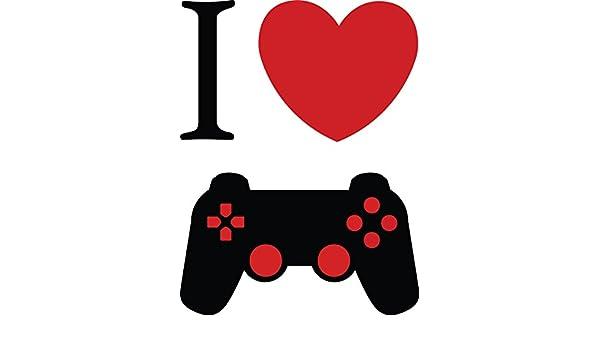 Chic paredes extraíble I Love corazón videojuegos controlador de ...