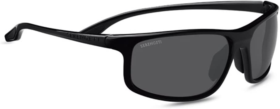 bollé Serengeti Levanzo Sunglasses, Shiny Black