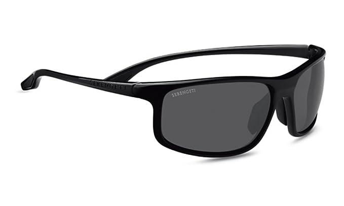 Amazon.com: Serengeti Eyewear anteojos de sol Levanzo, negro ...