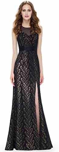efc88e8d58 Ever-Pretty Womens Floor Length Sheer Sweetheart Neckline Evening Dress  08950
