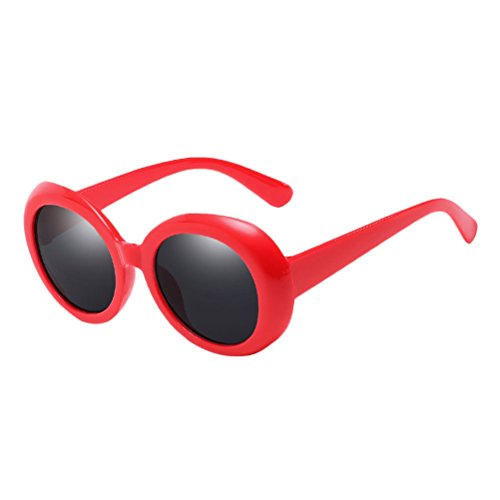 UV for à Unisex Red de Style Women 400 lunettes Mode Protection amp;gray Zhhlinyuan Qualité Round Étui lunettes Sunglasses Men soleil qzBx7xZw