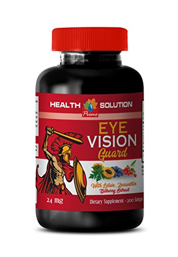 Eye Supplements for Adults Natural – Eye Vision Guard (with Lutein, ZEAXANTHIN and Bilberry Extract) – Lutein and zeaxanthin Supplements softgel – 1 Bottle (200 Softgels) Review