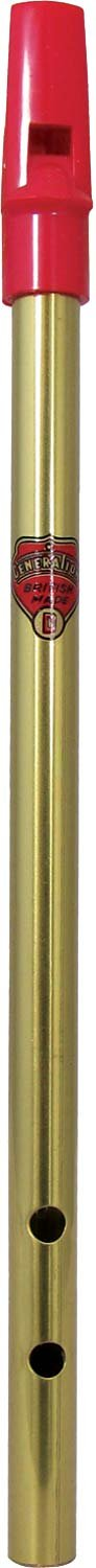 Generation D Brass Tabor Pipe Generation Whistles 6599
