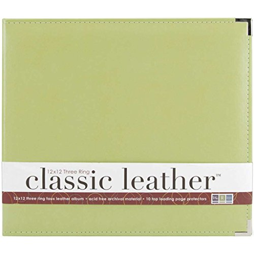 (We R Memory Keepers 660916 Classic Leather D-Ring Album 12