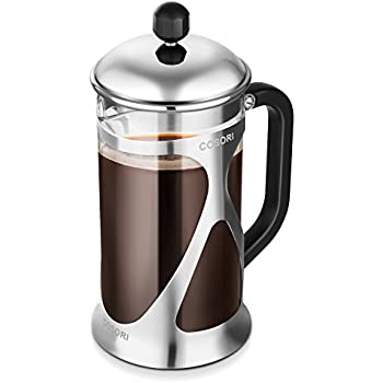 41bxBbdXltL. SL500 AC SS350   Cup French Press Coffee Maker Amazon Com Brillante Small French Press Coffee Maker With  Ounce  Cup Glass Beaker