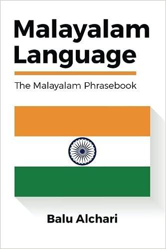 Amazon com: Malayalam Language: The Malayalam Phrasebook