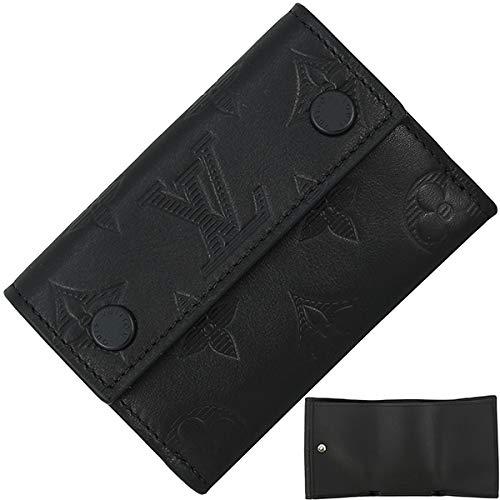 [ルイヴィトン] ディスカバリーコンパクトウォレット モノグラムシャドウ 三つ折り財布 [並行輸入品] B07R99LDFS