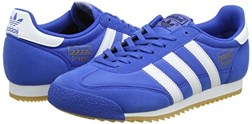 Fitness footwear Adidas gum blue Mixte Dragon De Adulte Og Bleu Chaussures White xqITqz