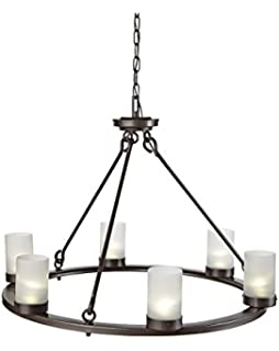 For Living Solar Gazebo Chandelier with Candle: Amazon.ca: Patio ...:CANVAS Lakeside Solar Chandelier,Lighting