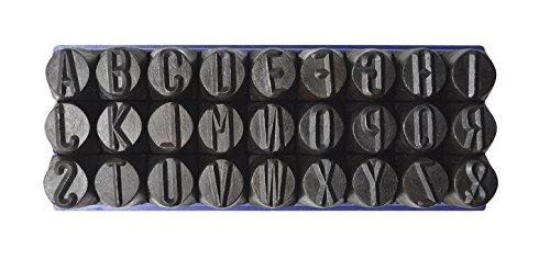 [해외]36 Pc 1 2 12.5 mm 강철 스탬프 펀치 세트 스탬핑 금속 문자 알파벳 번호 마킹 금 은색 막대 쥬얼리 마킹 도구/36 Pc 1 2  12.5 mm Steel Stamps Punch Set For Stamping Metal Letter Alphabet Number Marking Gold Silver Bars Jewelry Marking To...