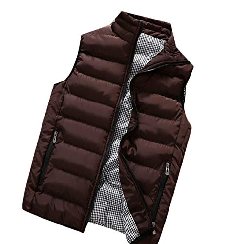 Sleeveless Coats Puffer Men's Packable Down 1 Gocgt Lightweight Winter Vests wxtI7XX
