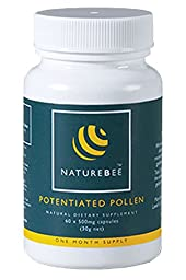NatureBee Potentiated Bee Pollen - Improves Energy and Wellbeing