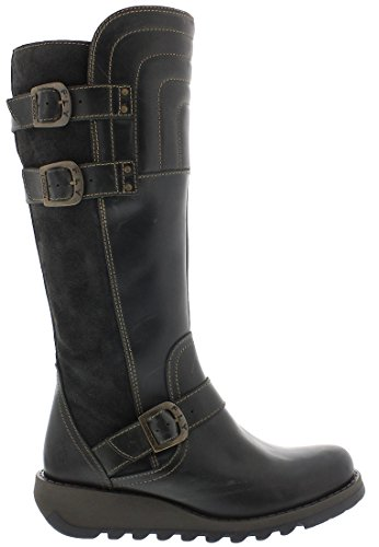 London Sher730fly Noir Fly Femme Bottes xwTaA1qY
