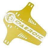 Bicycle Fenders,Chartsea MTB Mudguard Bike Front Back Mud Guard Marsh Fender Slim Fork Simple Fender (Yellow)