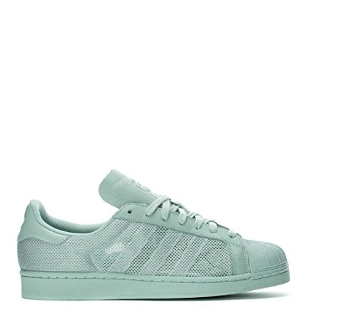 adidas Superstar Triple Mens Fashion-Sneakers BB3693_9.5 - Green/Vapour Green (Mens Adidas Triple Star)