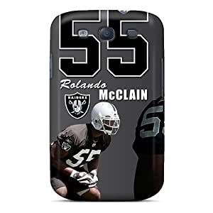 Shock-dirt Proof Oakland Raiders Case Cover For Galaxy S3