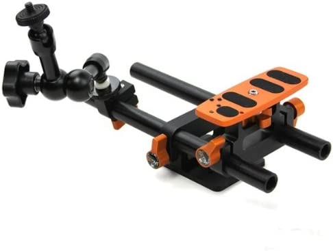 Jag35 AKBAV2//L Basic Articulating Arm Kit V2 Large Black//Orange